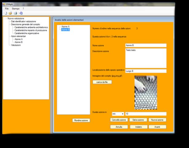 Progetto intera software per la valutazione dei rischi for Progetto software